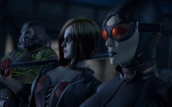batman, фантастика, telltale, game, бане, маска, catwoman,