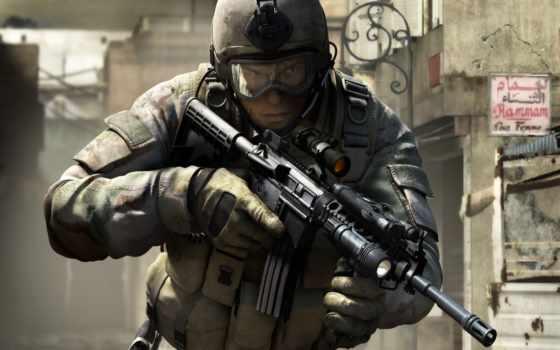 игры, война, солдат