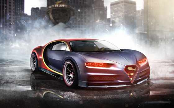 bugatti, chiron, superman, share,