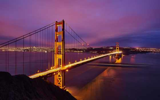 мост, gate, золотистый, подвеска, mile, permission