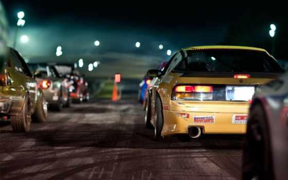 car, drift, jdm, является, экрана,