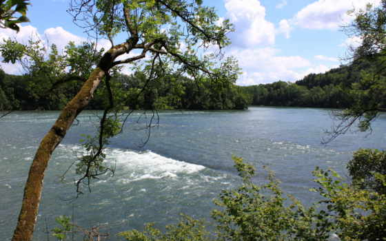 природа, швейцария, реки