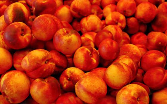 персики, взгляд, фрукты,