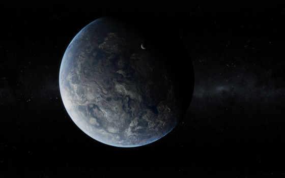 planet, спутник, звезды, cosmos, темная, art, красивые, stars, космоса,