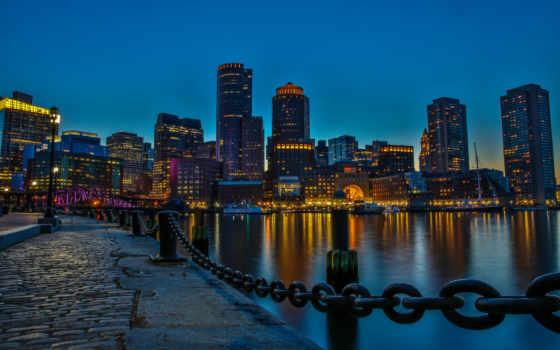 imagini, boston, unite, fundal, statele, ale, americii, массачусетс, позе,