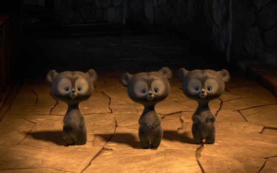 храбрая, сердцем, brave, медведь, cartoon, фильма, originally,