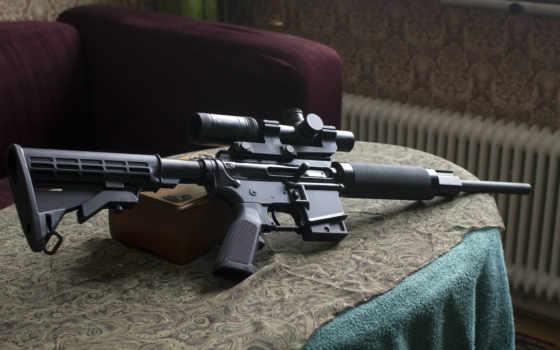винтовка, оружие, view, pantalla, cz,