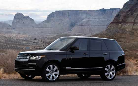 rover, range, autobiography, издание, black, long, wheelbase, нояб,