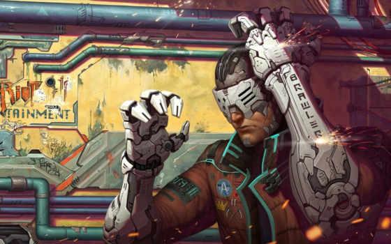art, cyberpunk, vertigo