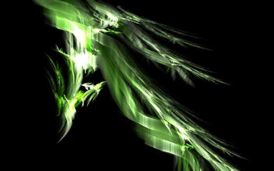 дракон, abstract, зелёный, dragons,