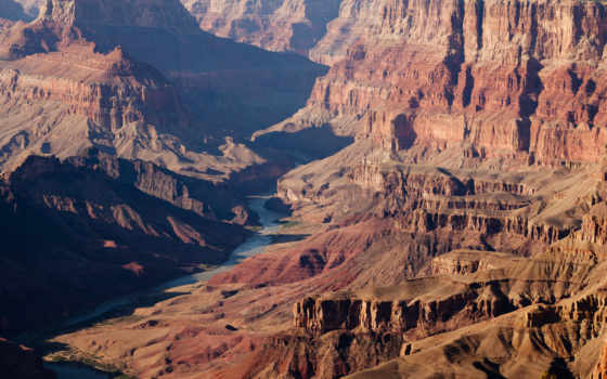 каньон, гранд, colorado, one, находится, arizona, штате, plateau, мире, каньонов, глубочайших,