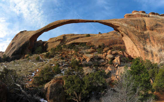 park, national, гора, landscape, арка