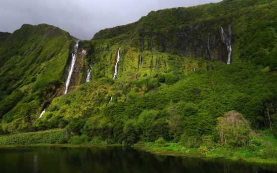 португалия, остров, флореш, острова, азорские, красиво, река, водопад, fazhanzinya, landscapes, excelent, flores, gregor,