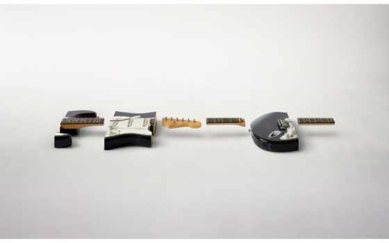 гитара, куски