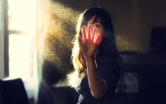 рука, девушка