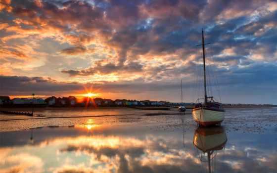 море, sailboat, парусники