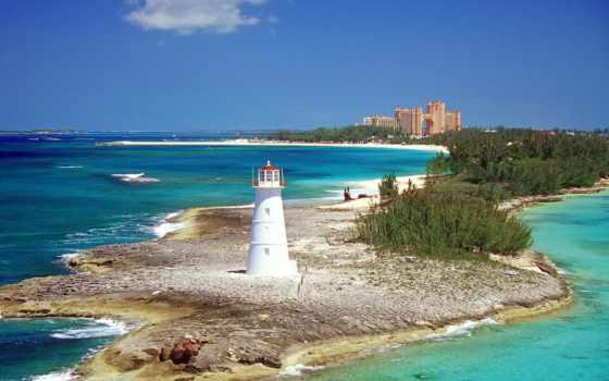 острова, карибские, рай