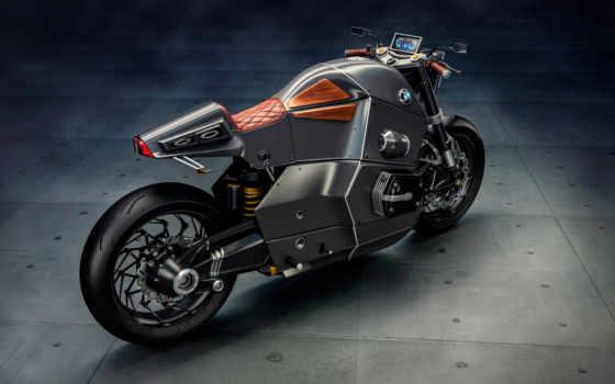 bmw, urban, гонщица, мотоцикла, concept,