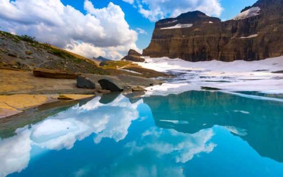 glacier, park, national, grinnell, pictures,