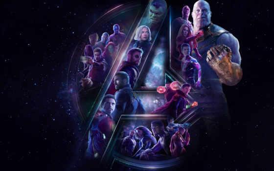 бесконечность, war, avengers, фон, плакат, desktop,
