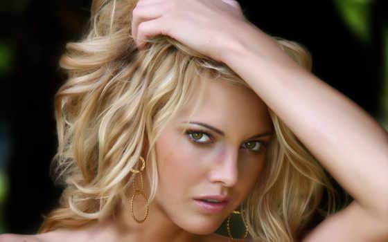 зелёный, женский, blonde, eyes, hasenchat, eyed, девушка, models, mix, люди,