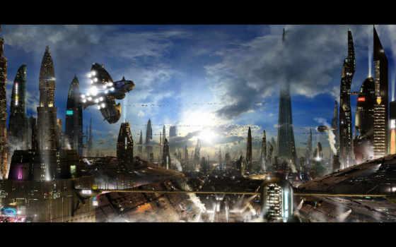 город, civilization, будущего
