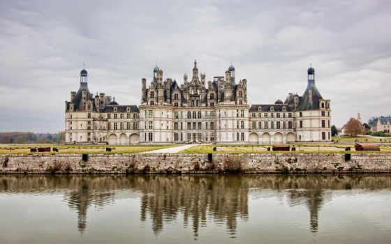 замок, франция, франции