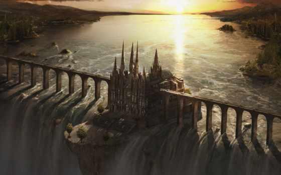 fantasy, castle, castles, об, pinterest, see, more,