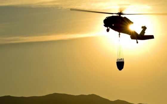more, drop, water, армия, вертолет, fires, hawk, gallons,