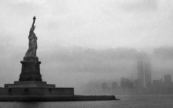 liberty, статуя, art, desktop, свободы,