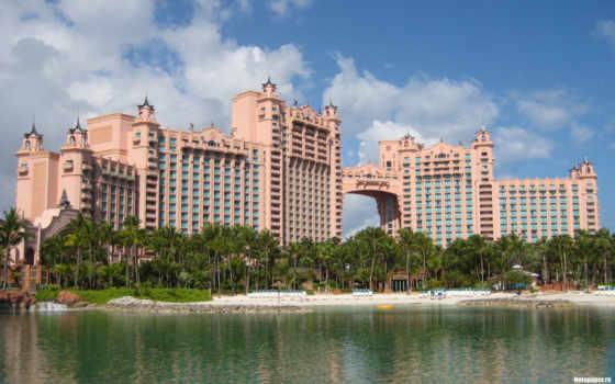 атлантис, resort, рай, остров, город, отели, самых, top, острова, мира, отелей,