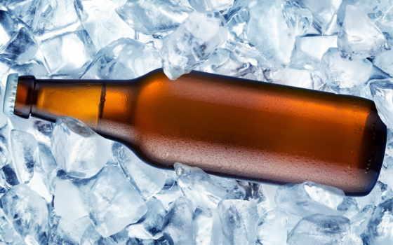 пиво, бутылка, красивые