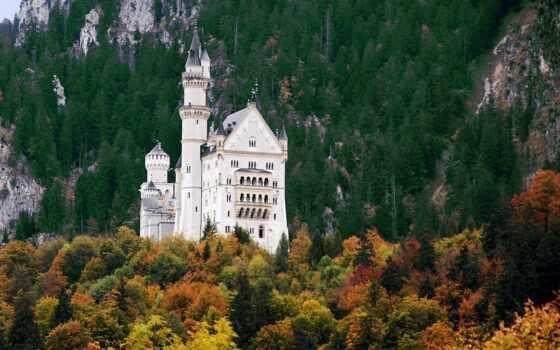castle, нойшванштайн, германия