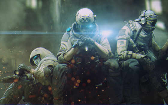 ghost, солдат, recon, cyberpunk, art, game