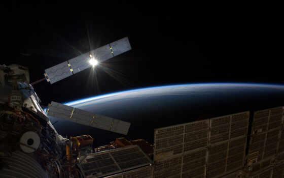 грузовой, корабль, космос, акпп, planet, лодка, транспорт, инженер