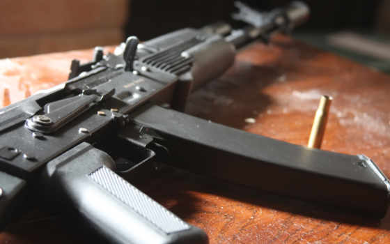 оружие, полицейские