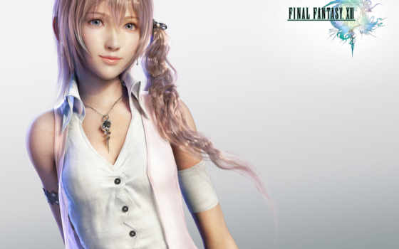 fantasy, final, serah, farron, xiii, more,