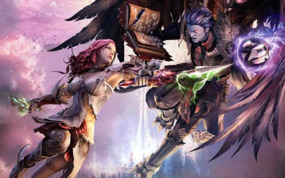 fantasy, anime, крылья