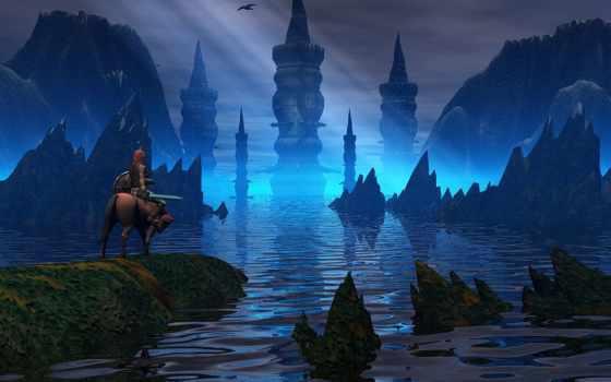 сказочный, world, fantasy, тематика, след, календари,