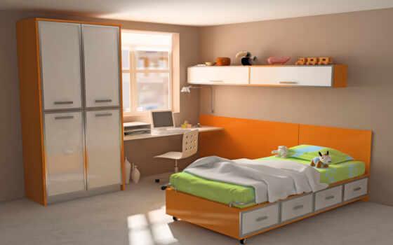 детской, дизайн, комната