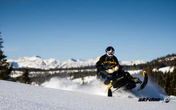 снегоход, doo, extreme, ski, ski-doo, sled, snow, snowmobile, winter,