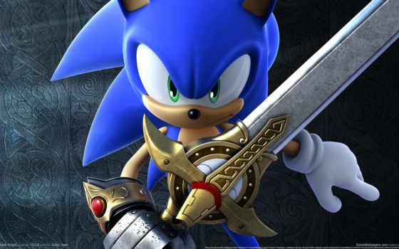 sonic, black, рыцарь