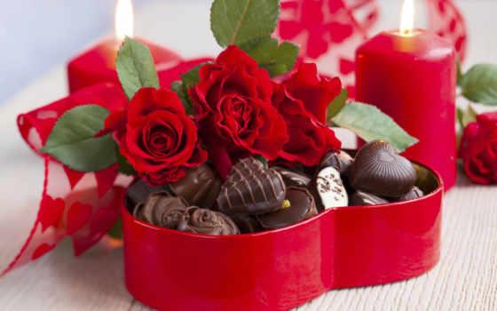 день, святого, valentine, всех, влюбленных, февраля, сердце,
