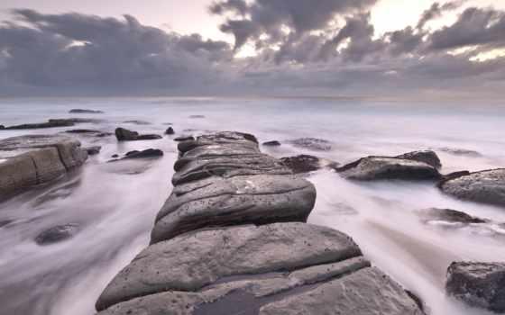 море, скалы, pictures, сзади, камень, obrázky, more,