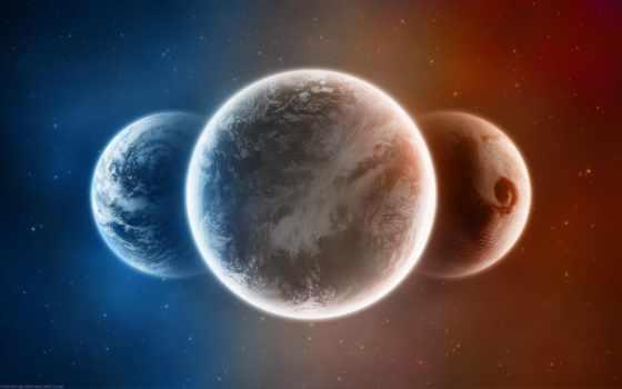 cosmos, планеты, трио, космос, широкоформатные, звезды, ученые,