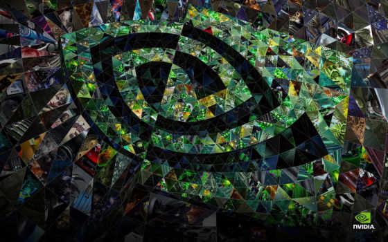 nvidia, абстракция, logo