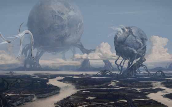 sci, landscape, доска
