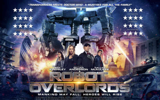 overlords, robot, бой, железная, anderson, gillian, movie, фильмы,