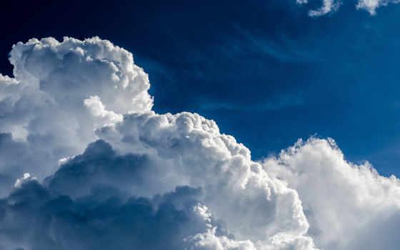 oblaka, небо, природа, голубое,