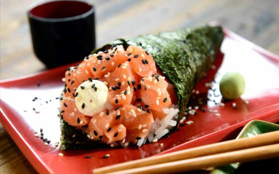 temaki, japonesa, sushi, comida, japartiu, stock, para, como, licença,